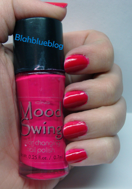 Color Changing Nail Polish | blahblueblog
