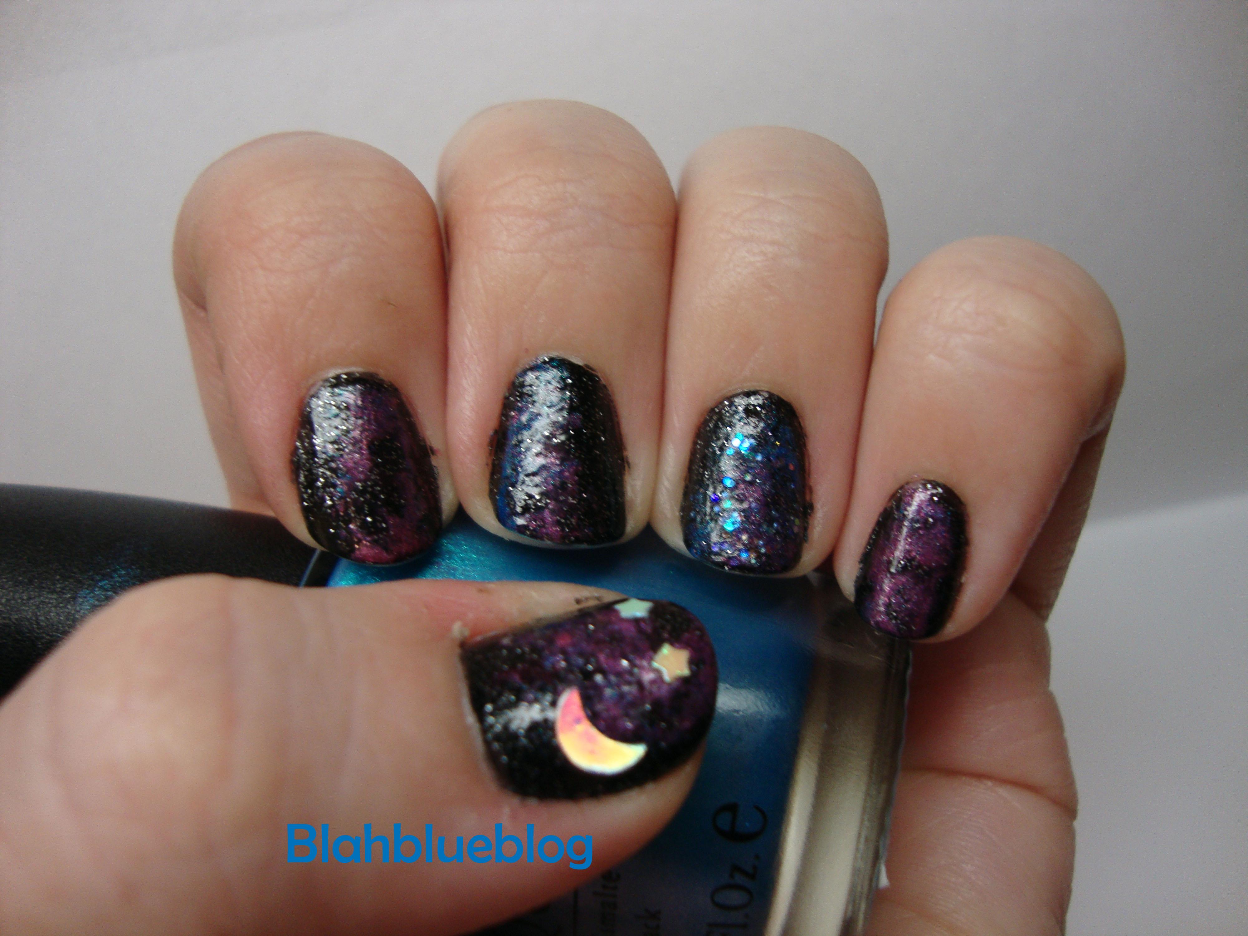 space nails | blahblueblog